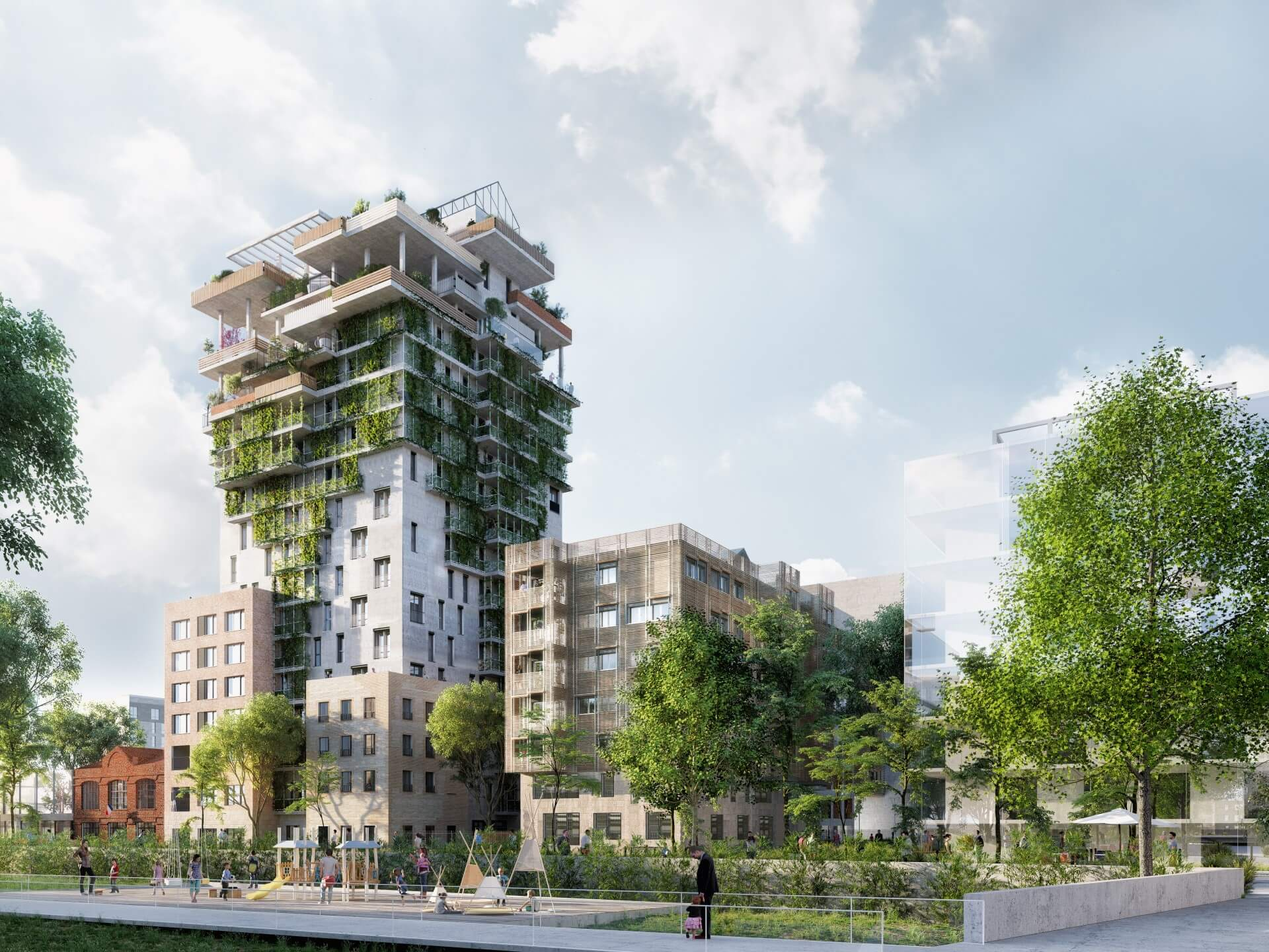 Programme immobilier neuf Sky Garden