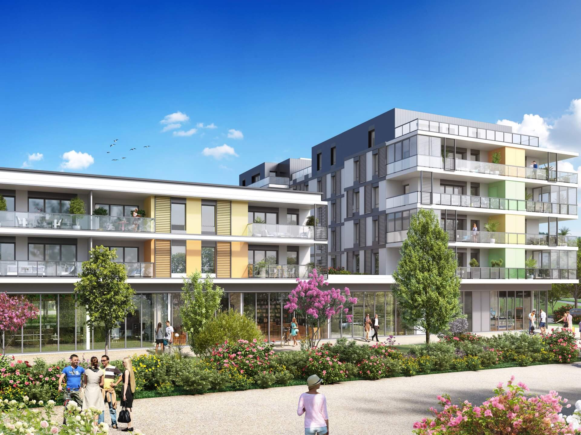 Programme immobilier neuf Connectis 2 - Emergence