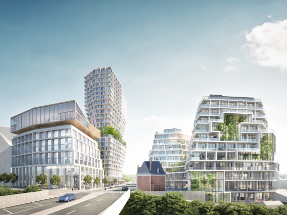 EuroRennes, nouveau quartier pour une nouvelle gare
