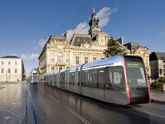 Retour gagnant pour le tramway à Tours