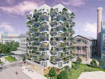 Boom de l'immobilier dans la banlieue parisienne